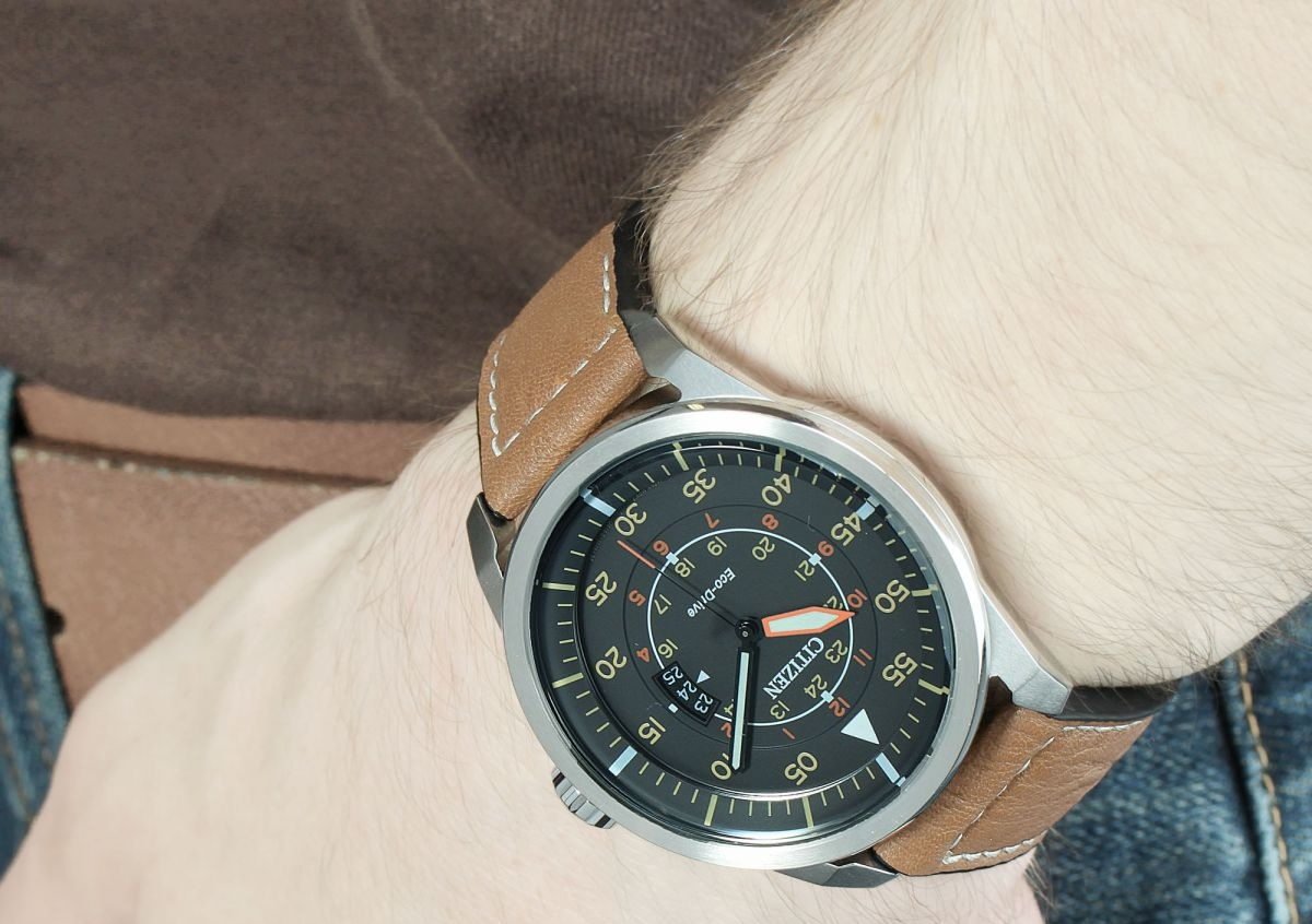 AW1361-10H on the wrist