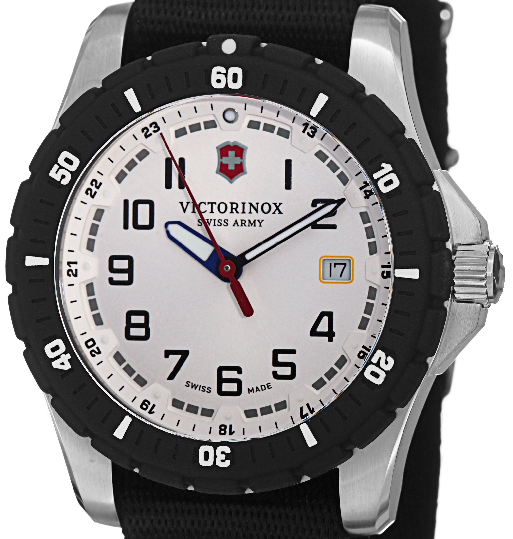 swiss wenger chrono the someone being of watch on this first hands is watches picture img says victorinox part wrist when probably review squadron likely however other army you a