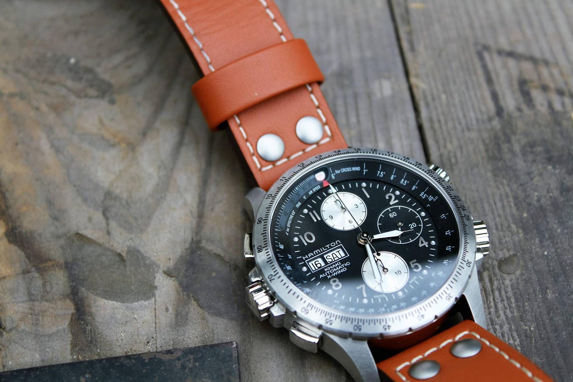 3262093ef51 Hamilton Khaki X-Wind H77616533 Chronograph Watch Review ...