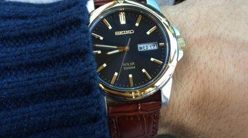 Seiko SNE102 Solar Watch Review