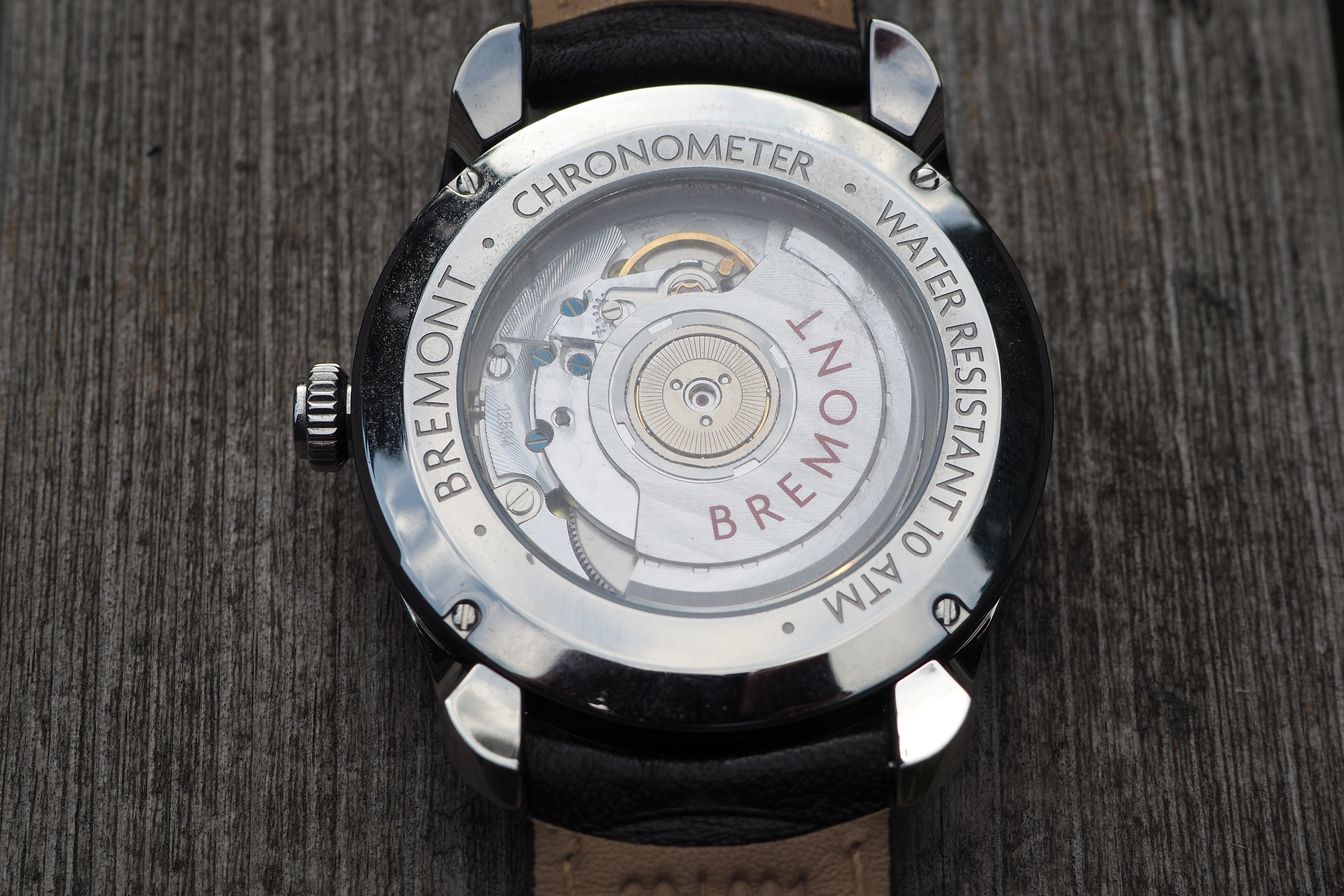 Bremont BE-92A automatic movement