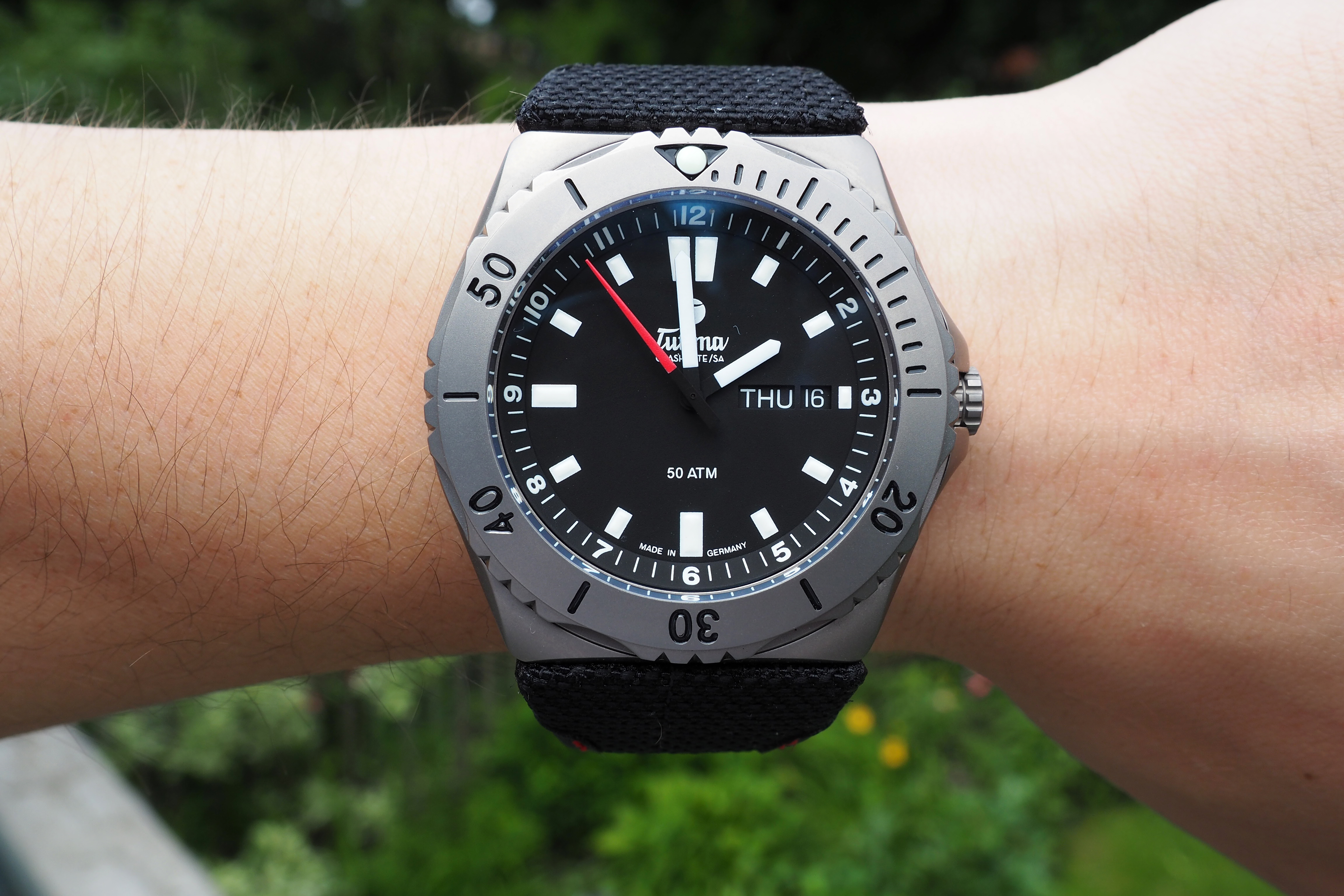 M2 Seven Seas On The Wrist