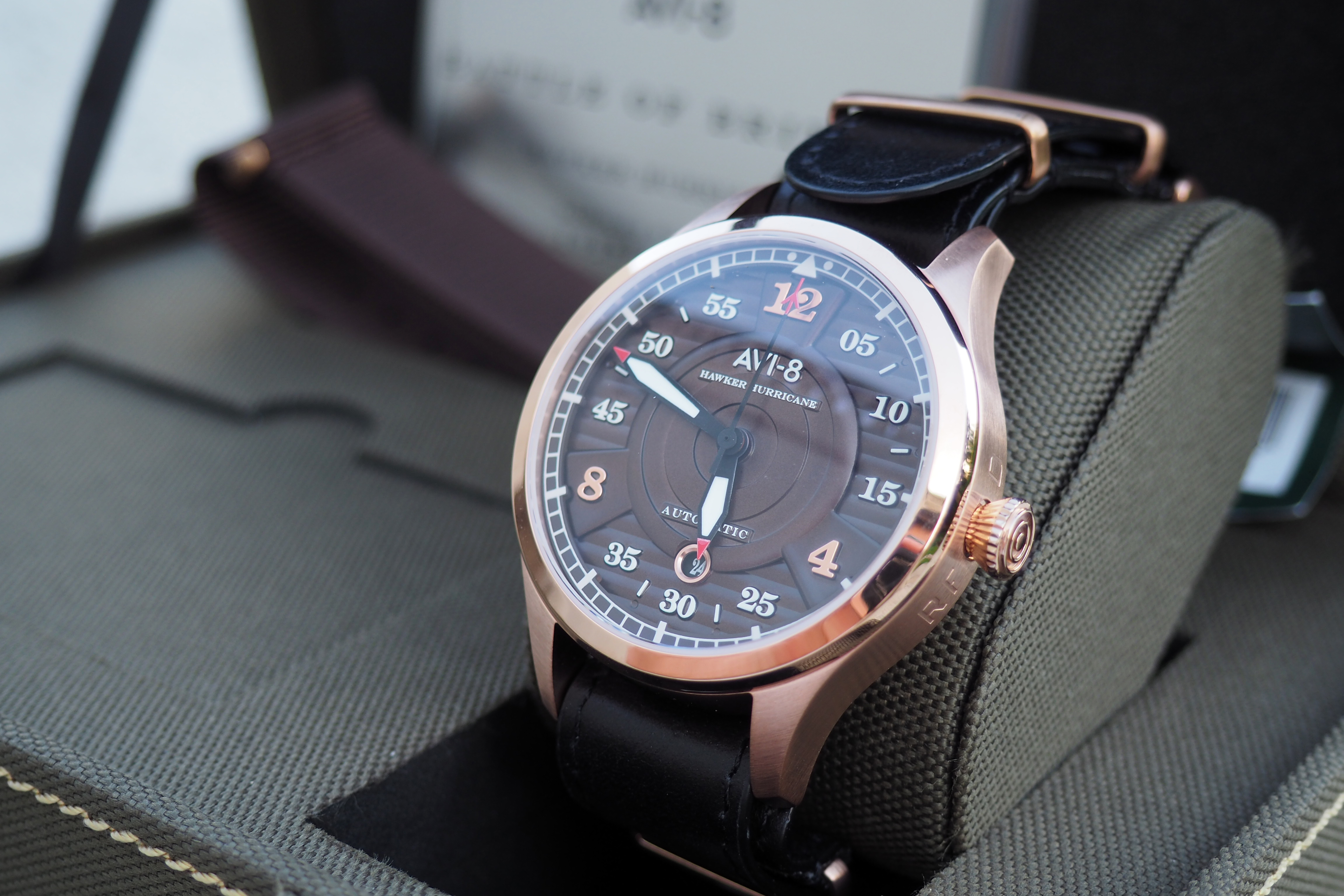 AVI-8 Hawker Hurricane AV-4046-02 Watch Review