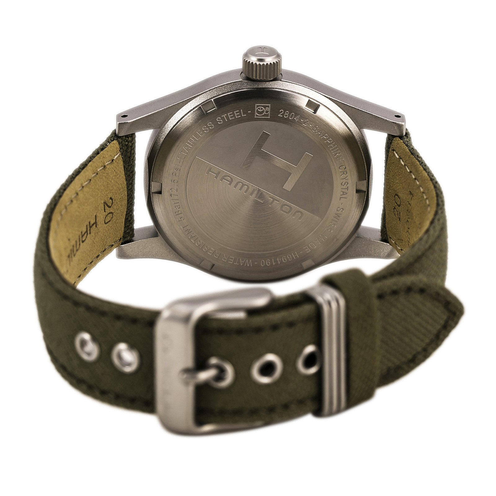 back of watch and EAT movement