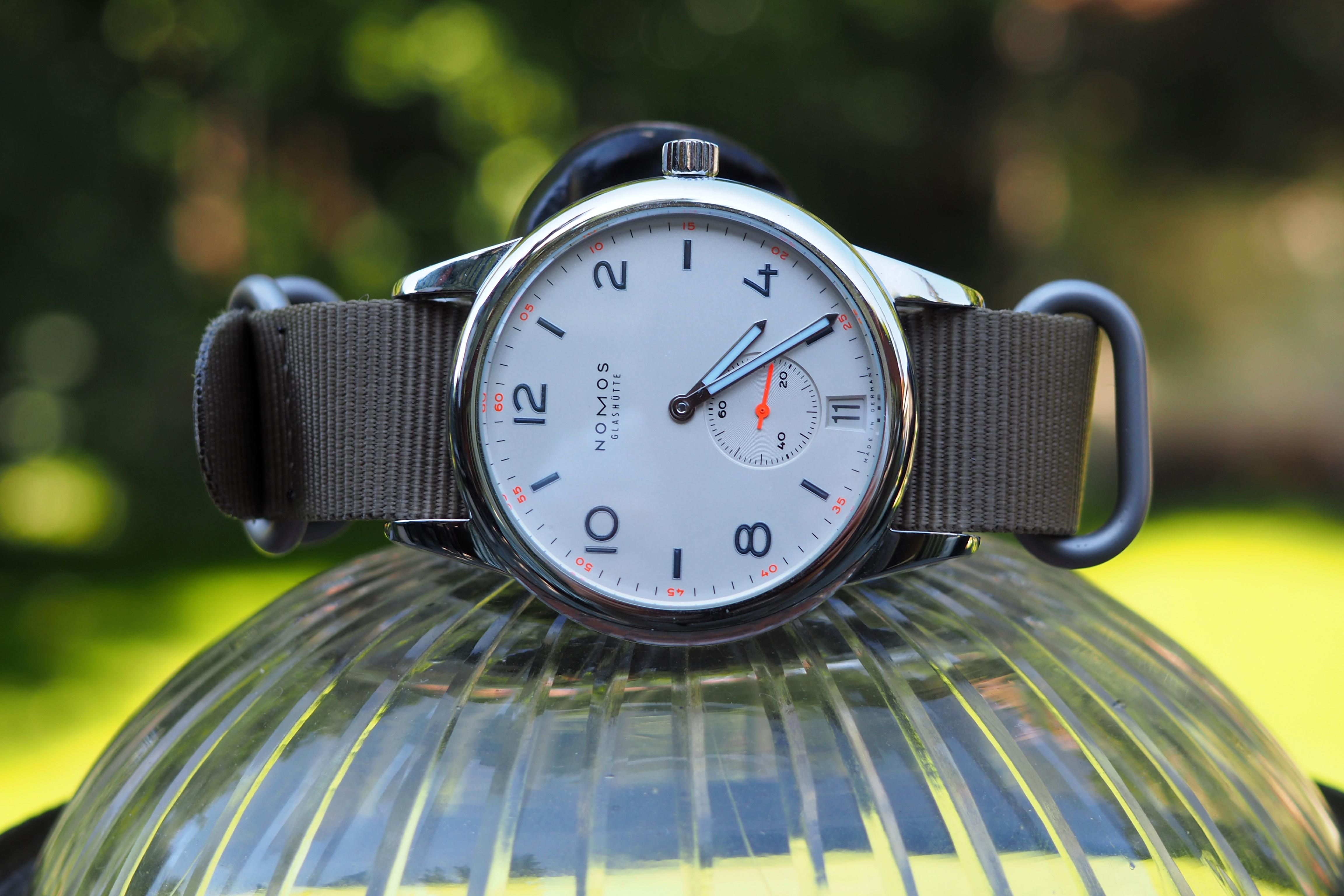 Nomos Club Automat Datum Watch Review