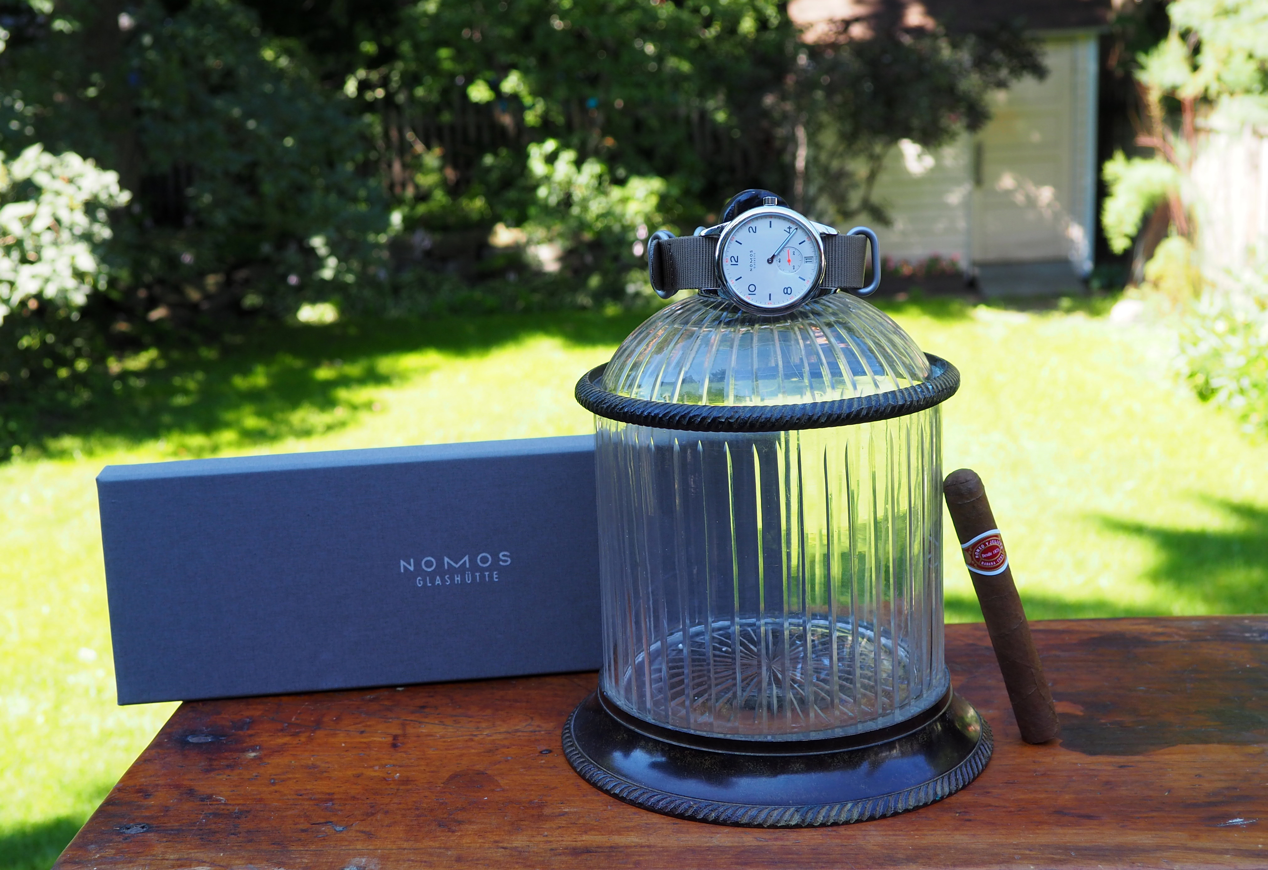 Club With Cigar And Box