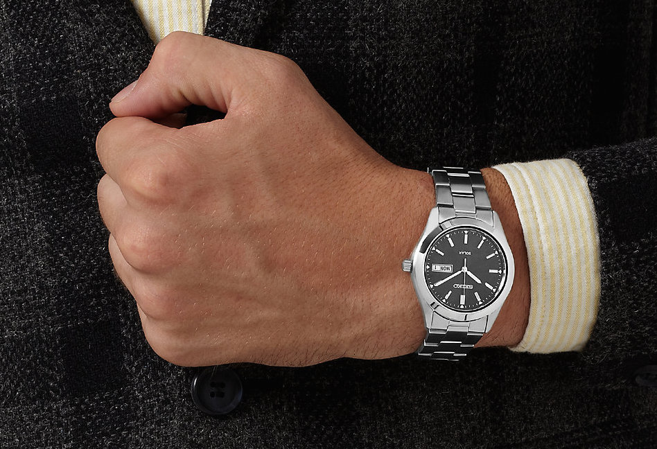 Wearing the timepiece