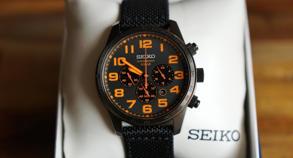 Seiko SSC233 Sport Solar Watch Review