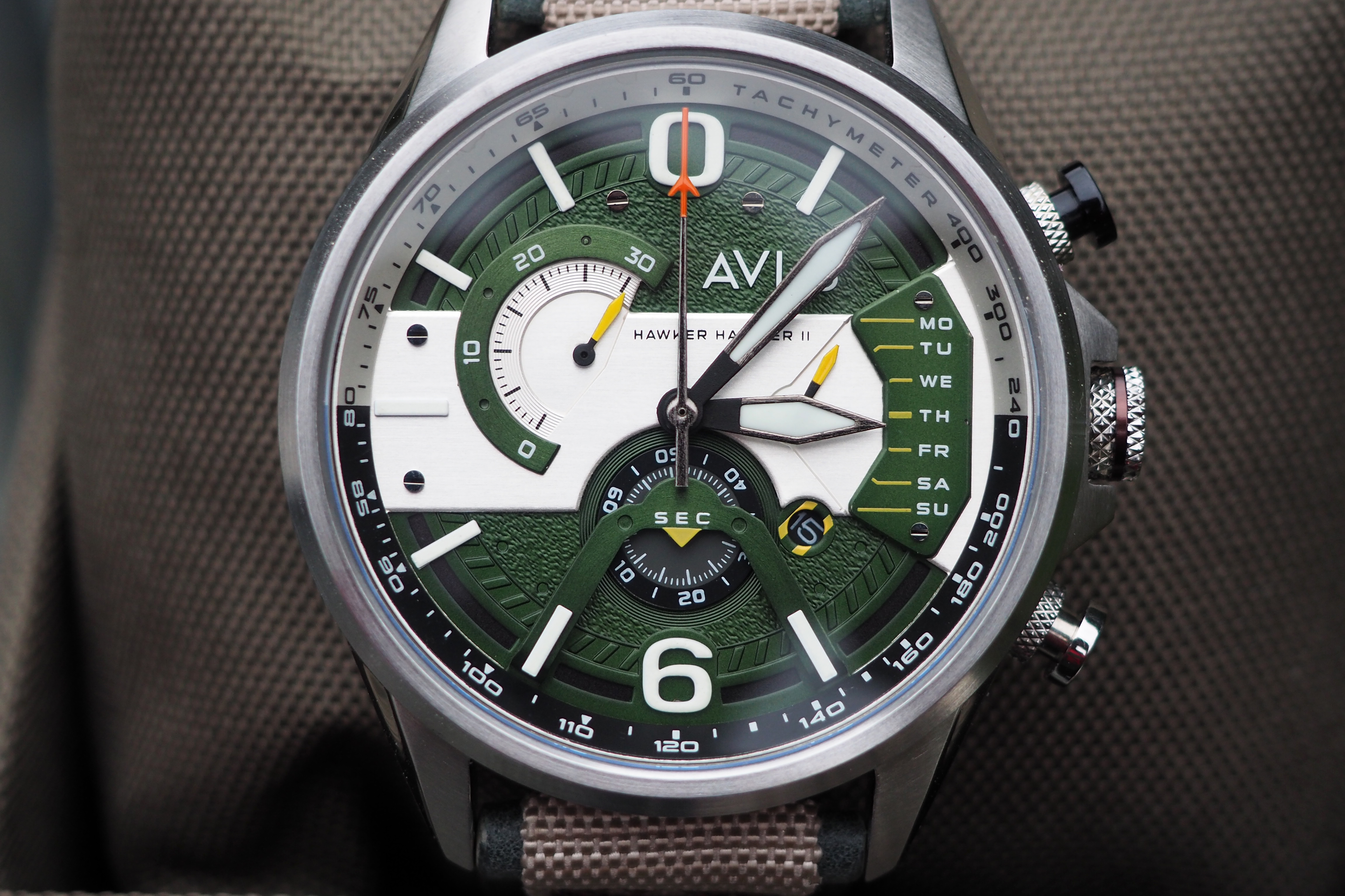 AVI-8 Hawker Harrier II AV-4056 Watch Review