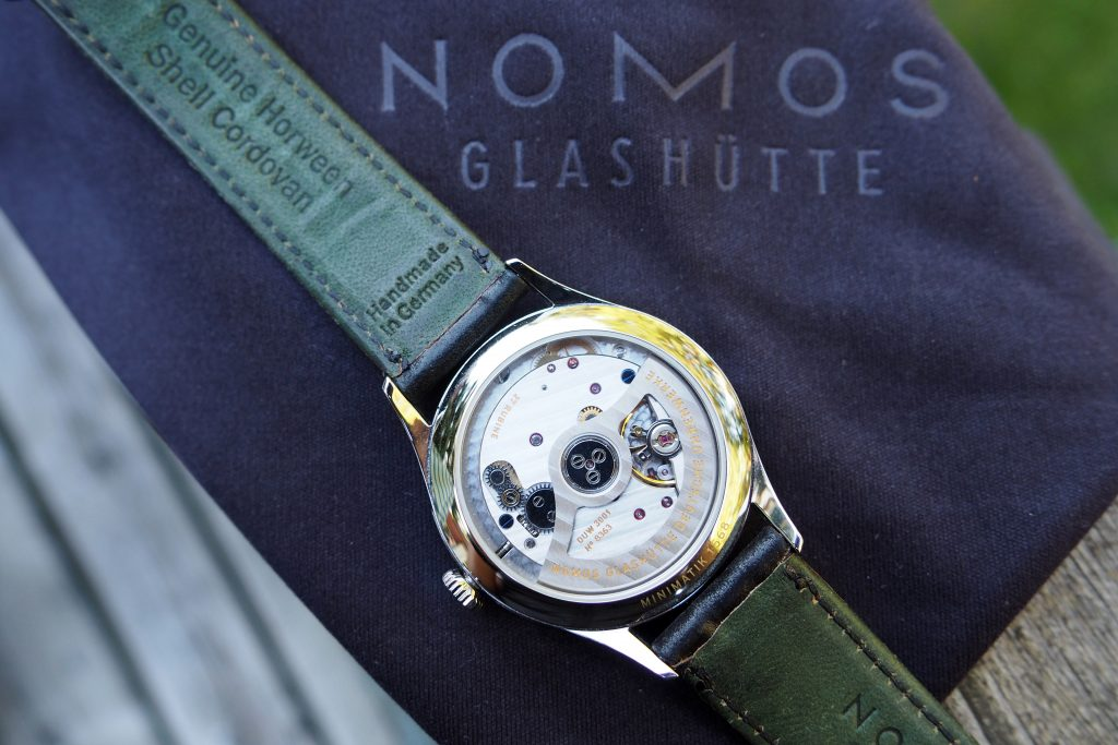 in house automatic DUW 3001 movement