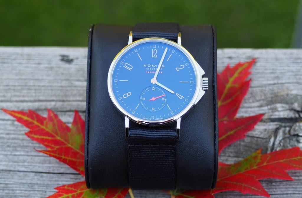 Ahoi dial close up in Autumn