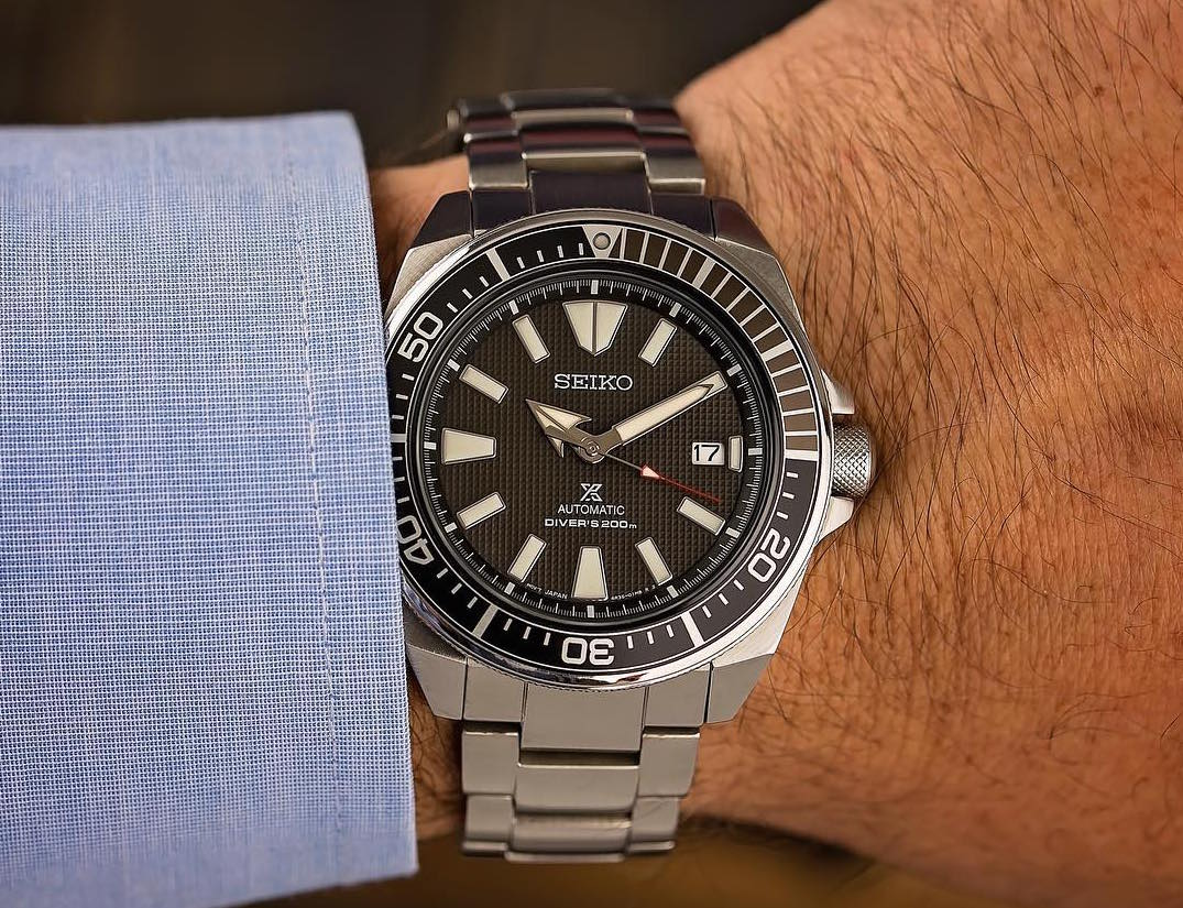 Seiko Prospex Samurai Automatic Dive Watch Review