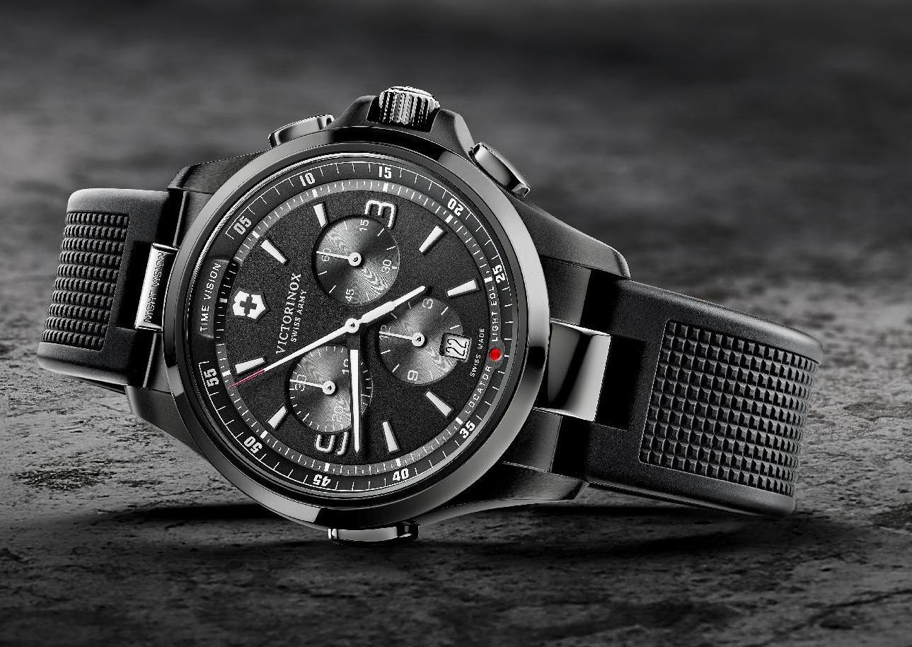 Victorinox Night Vision Chronograph Watch Review