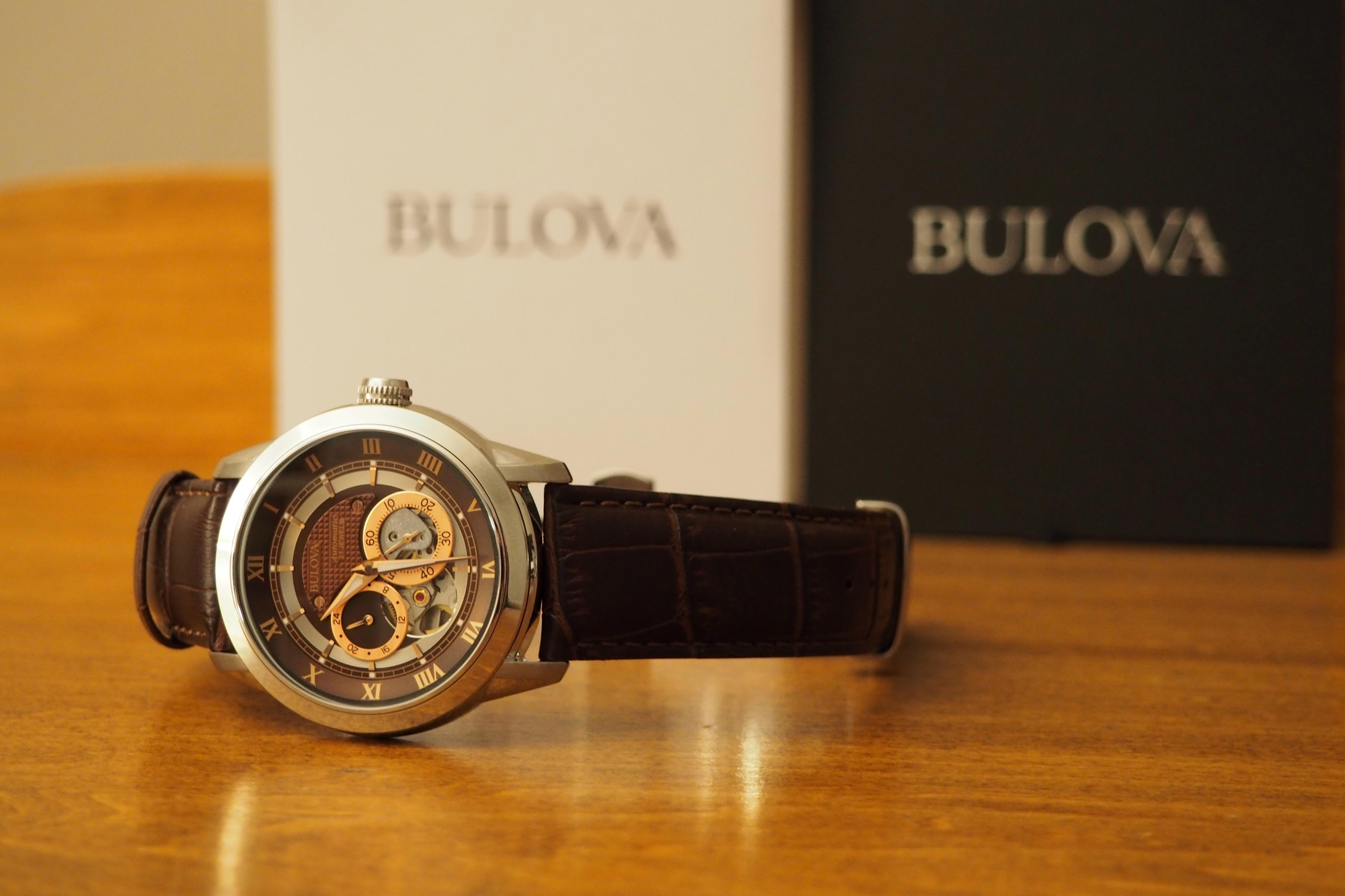 Bulova 96A120 Automatic Watch Review