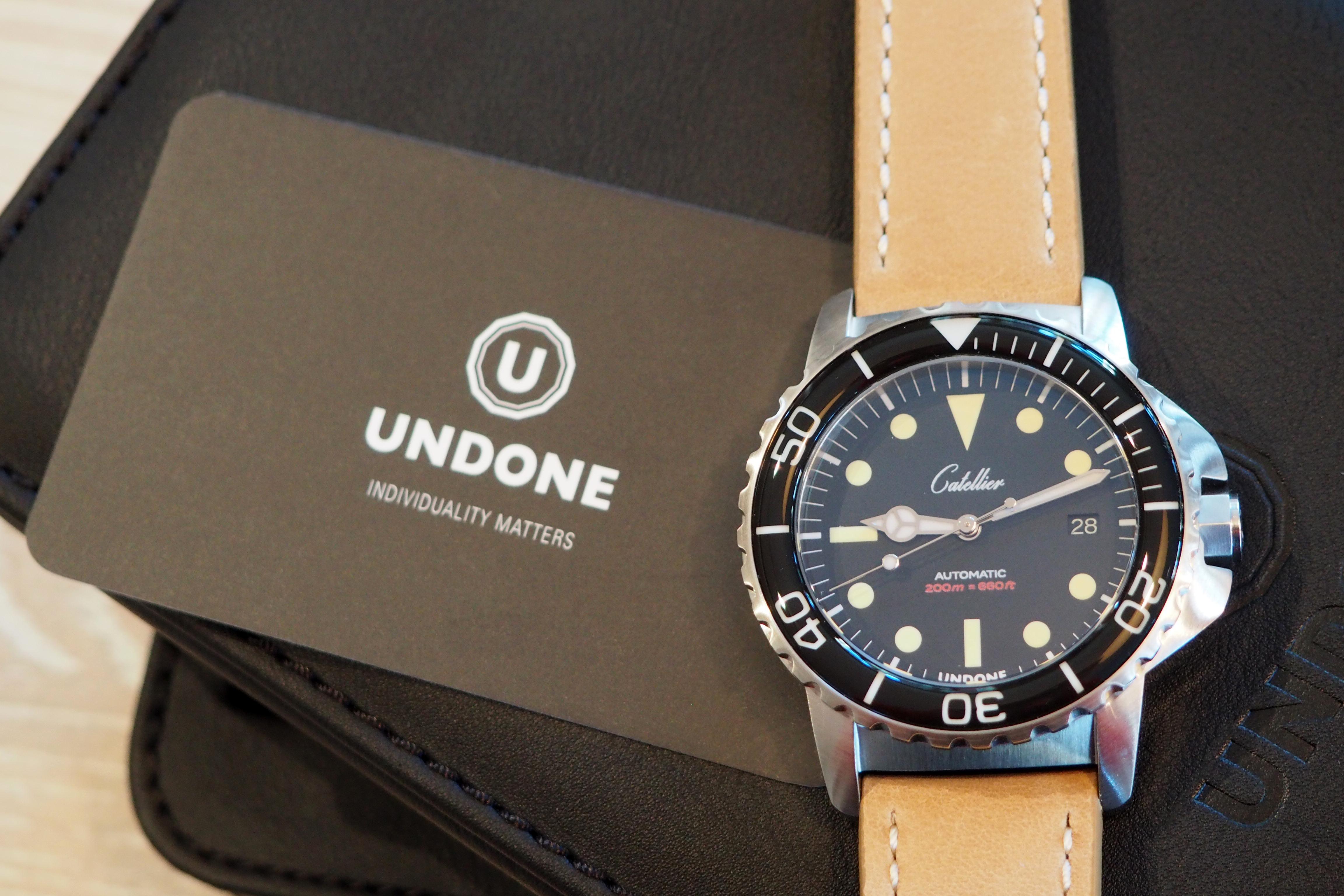 Undone Aqua Custom Dive Watch Review