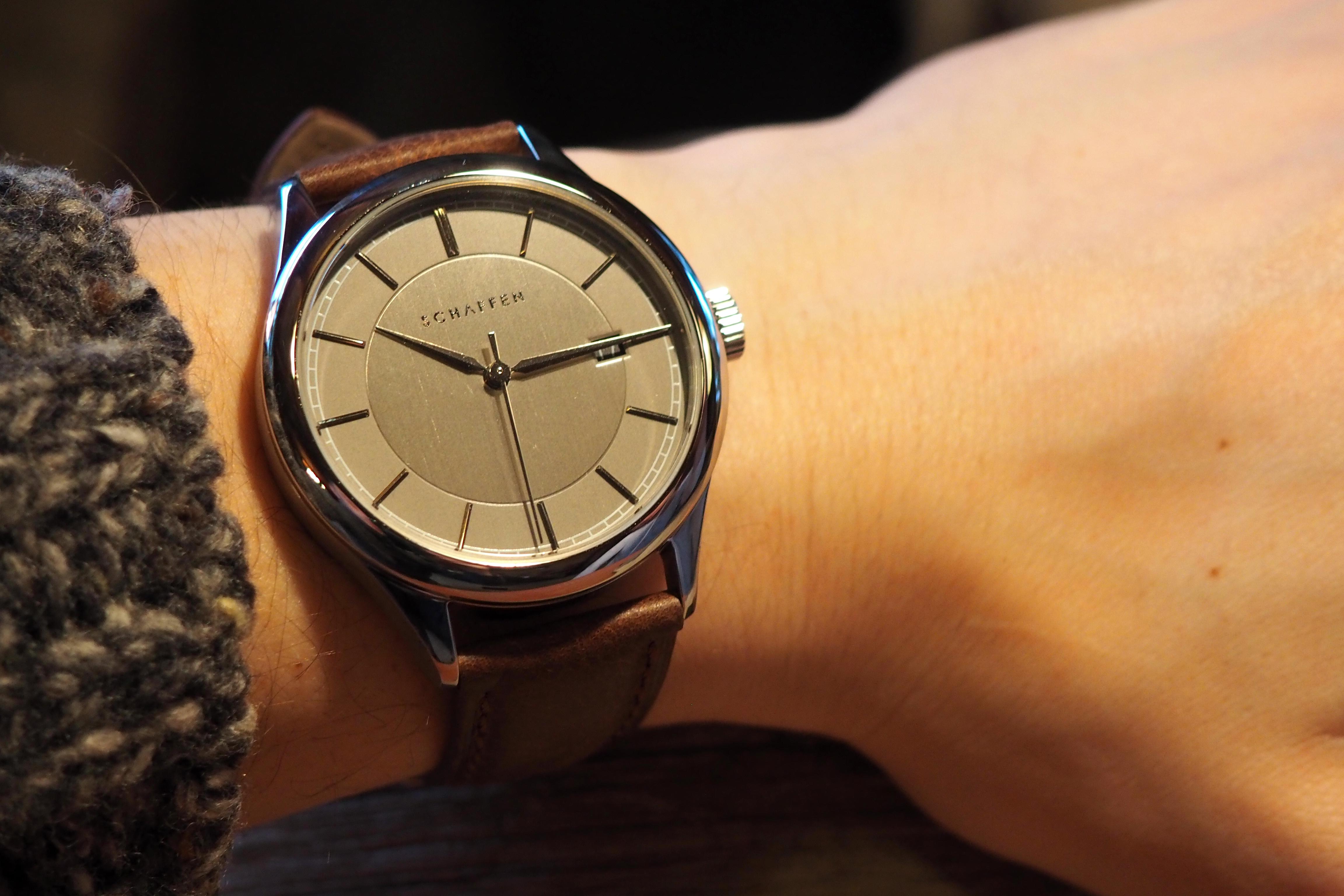 schaffen on the wrist photo