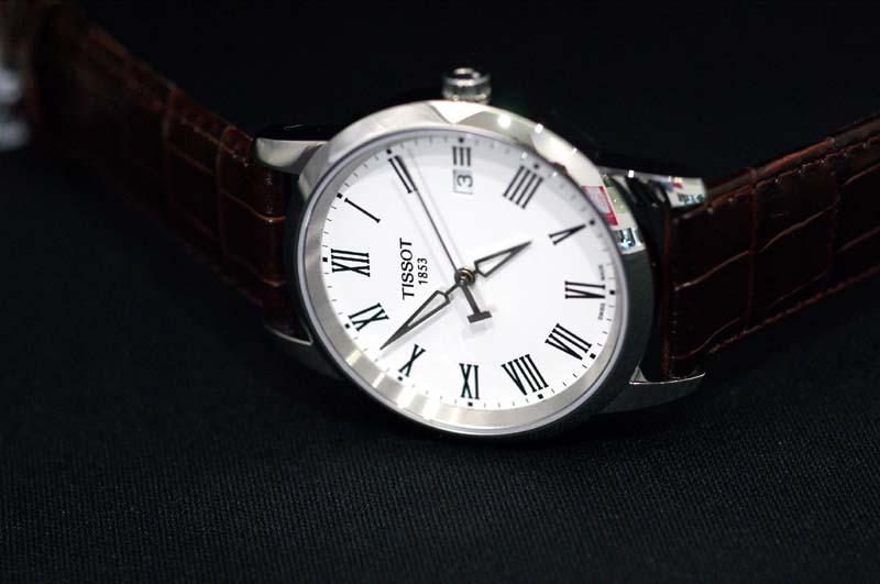 9538a8d7f98 Tissot T0334101601300 T-Classic Dream White Watch Review ...