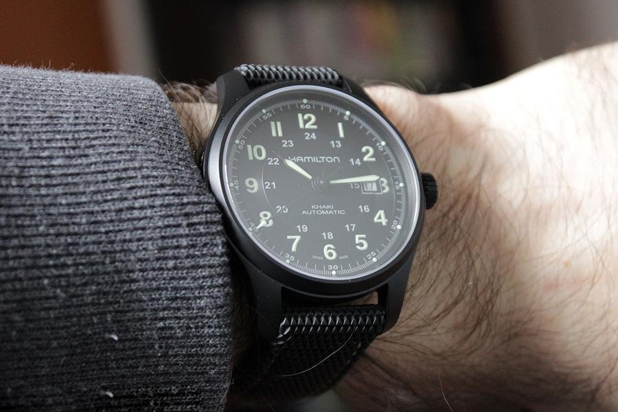 Hamilton HML-H70575733 Khaki Field Matte Black Watch Review