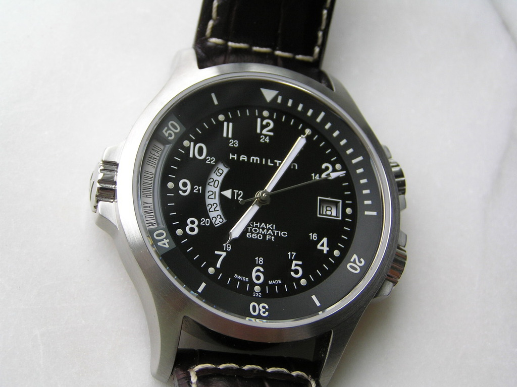 H77615333 black dial