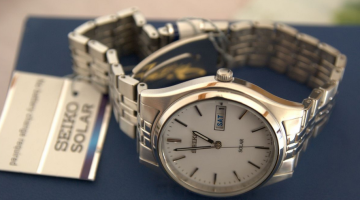 Seiko SNE031 Solar-Powered Watch Review
