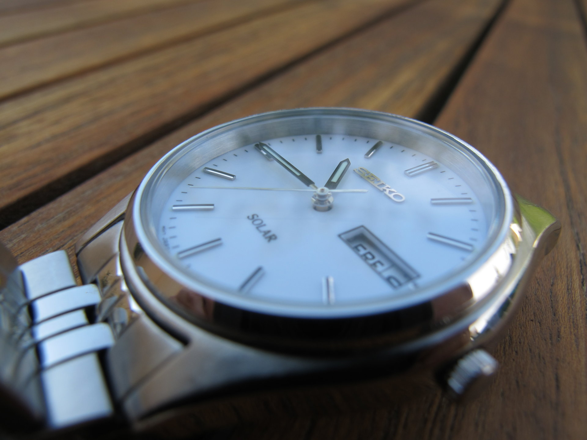 dials and crystal