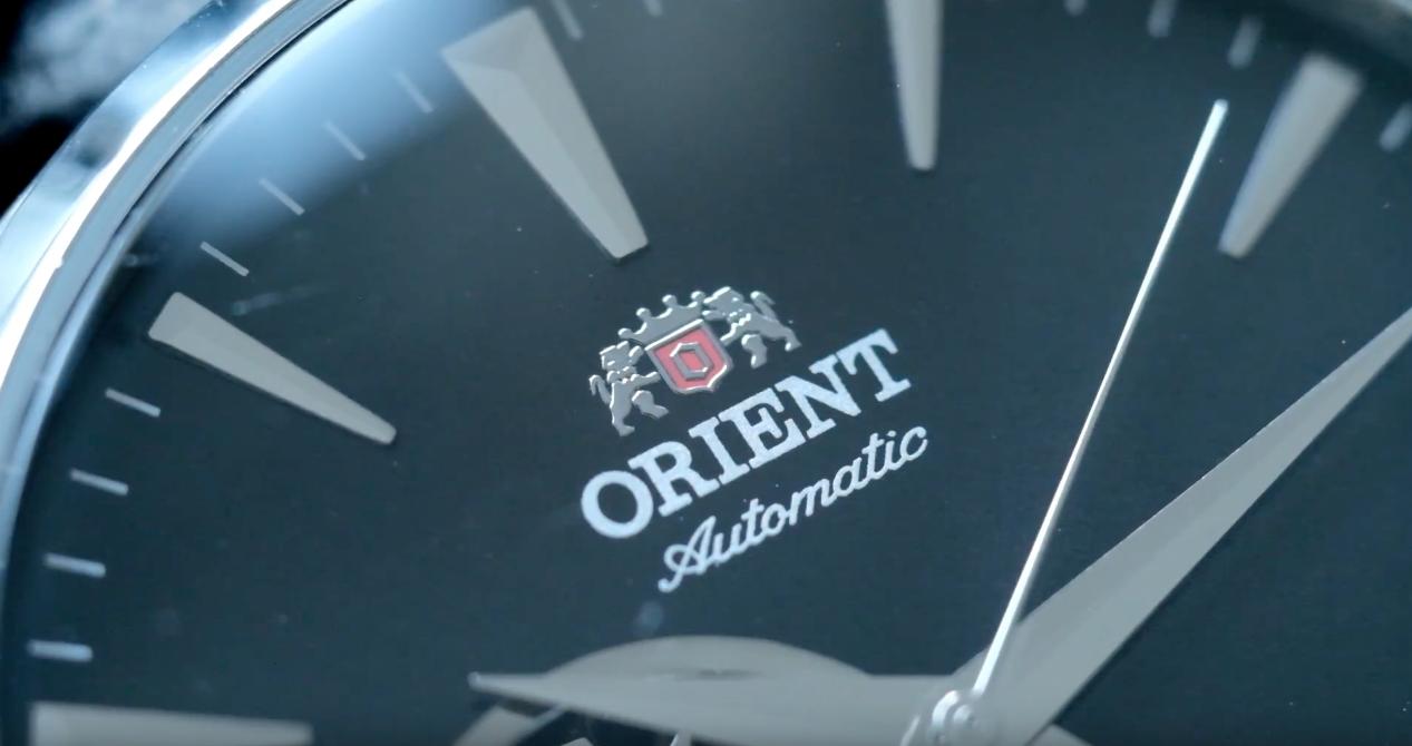 close up dial and logo