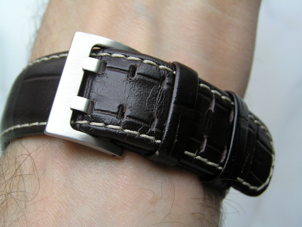 rubber & leather band