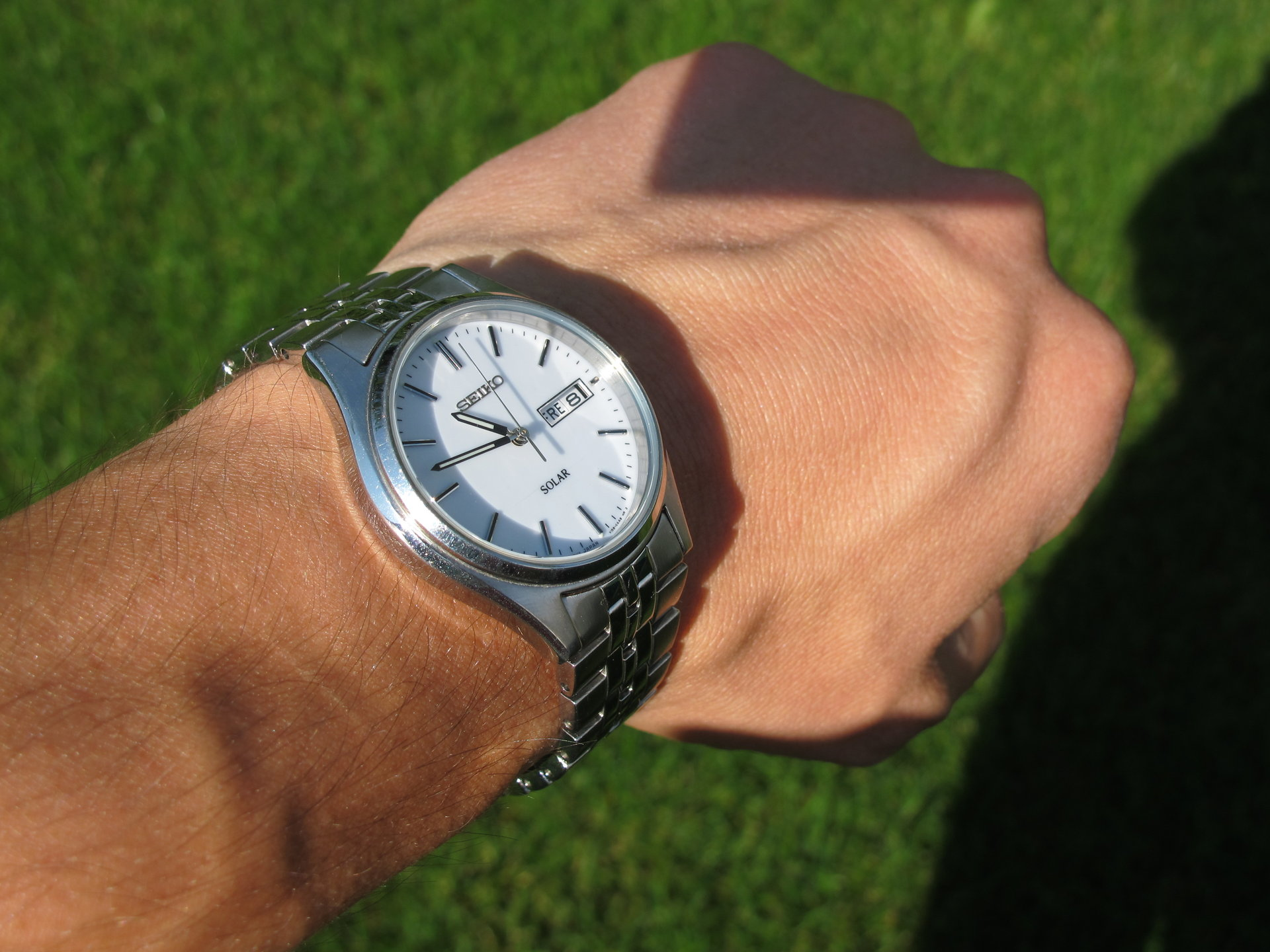 SNE031 on the wrist