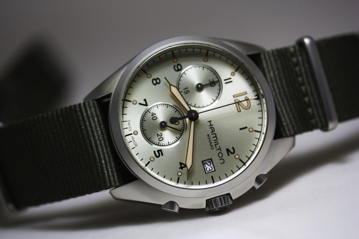 Hamilton H76552955 Pilot Pioneer Chronograph Watch Review