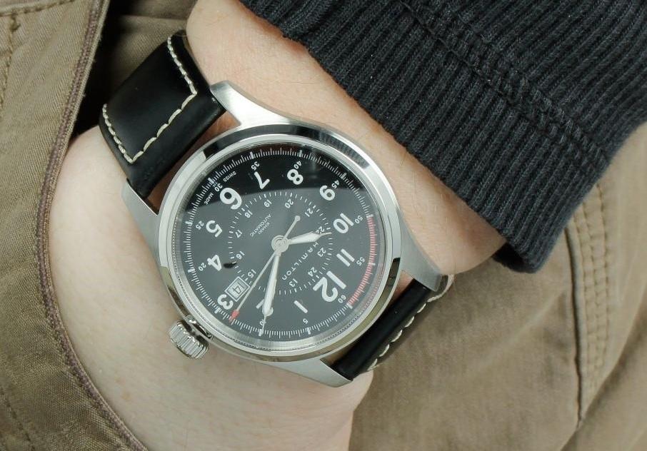 Hamilton H70615733 Khaki Officer Watch Review