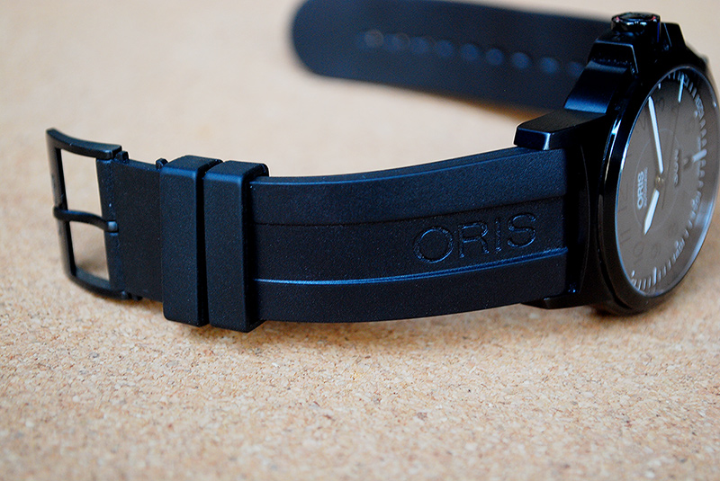 rubber or leather strap