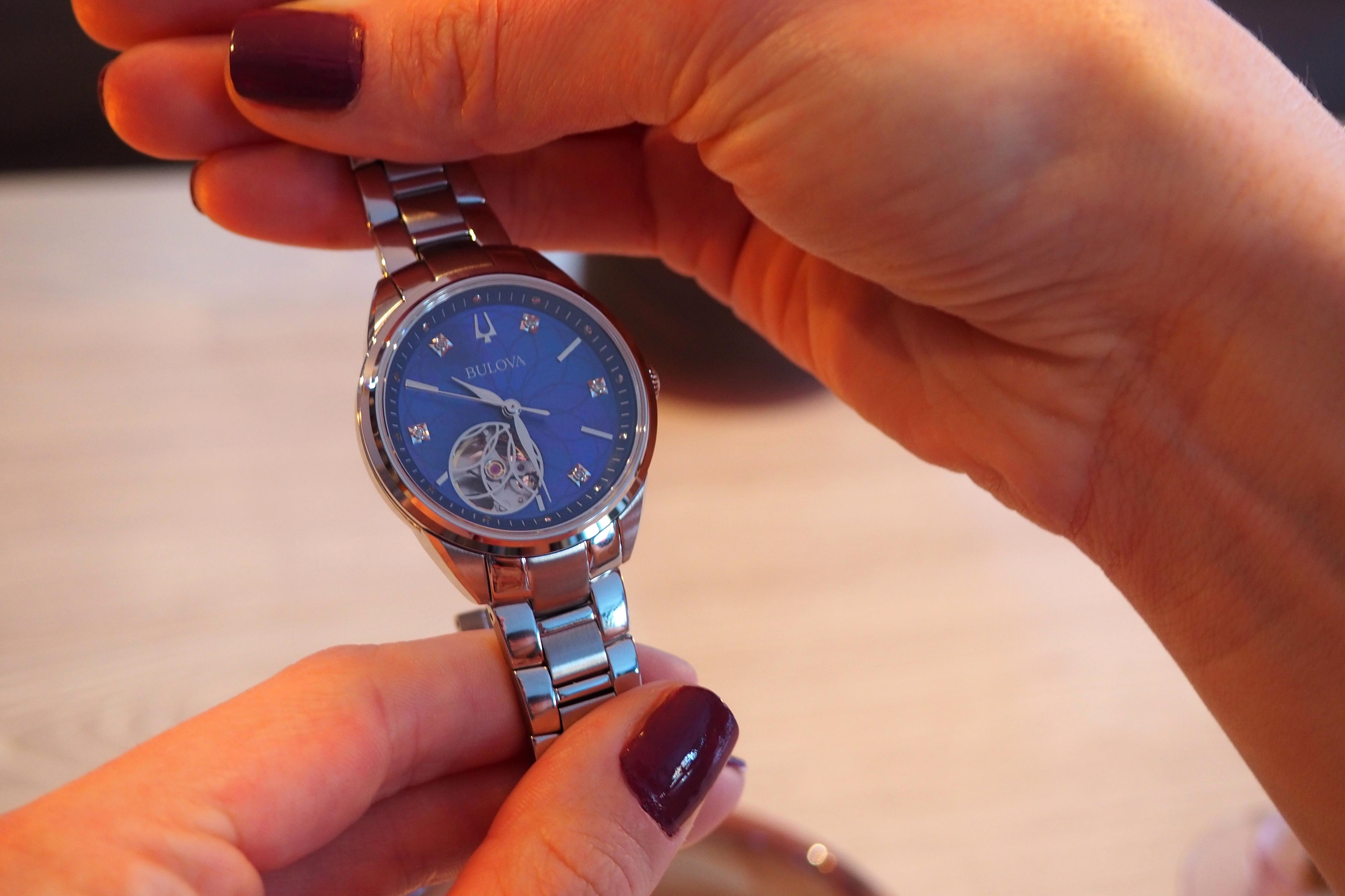 Fancy dial with diamonds