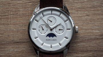 Filippo Loreti Venice Moonphase Silver Watch Review