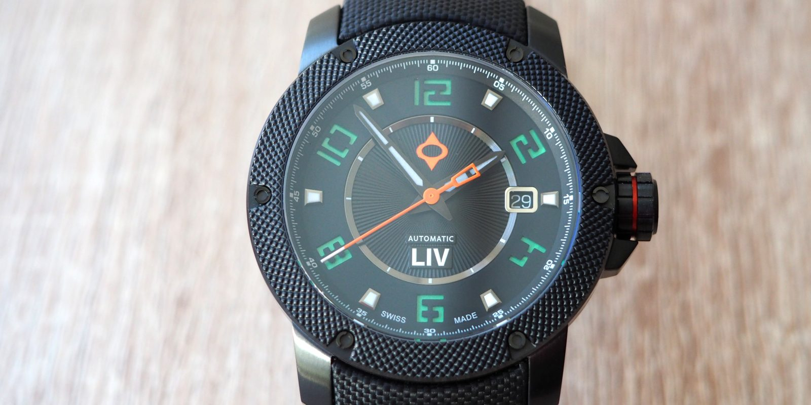 Liv GX1-A Swiss Automatic 1110.42.80 Watch Review
