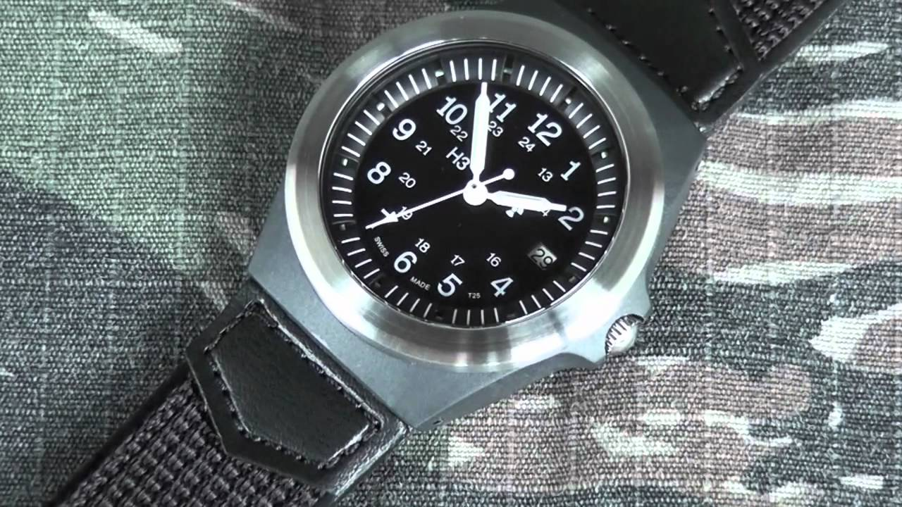 Traser TYPE 3 TRITIUM Tactical Watch Review