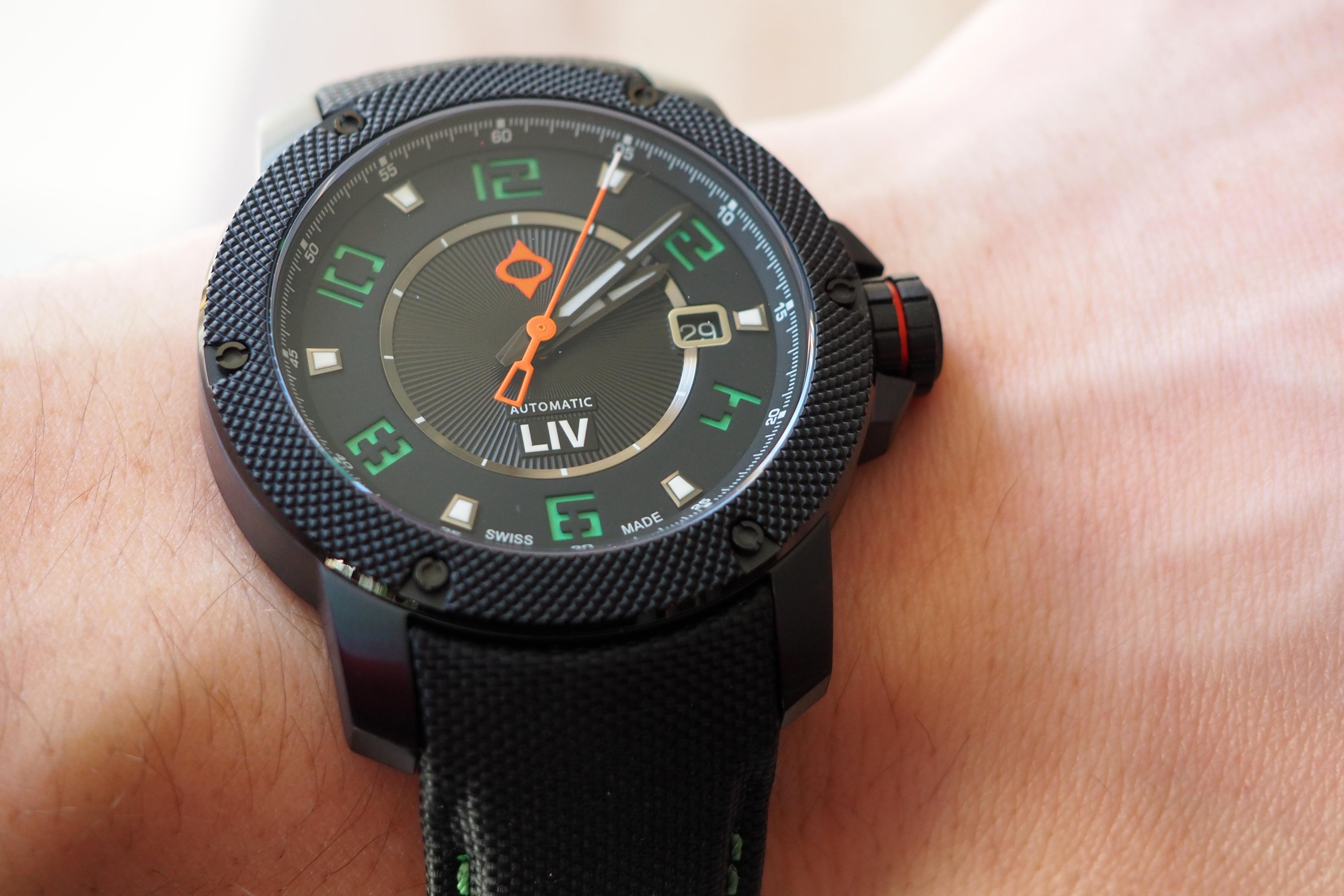 GX1-A on the wrist