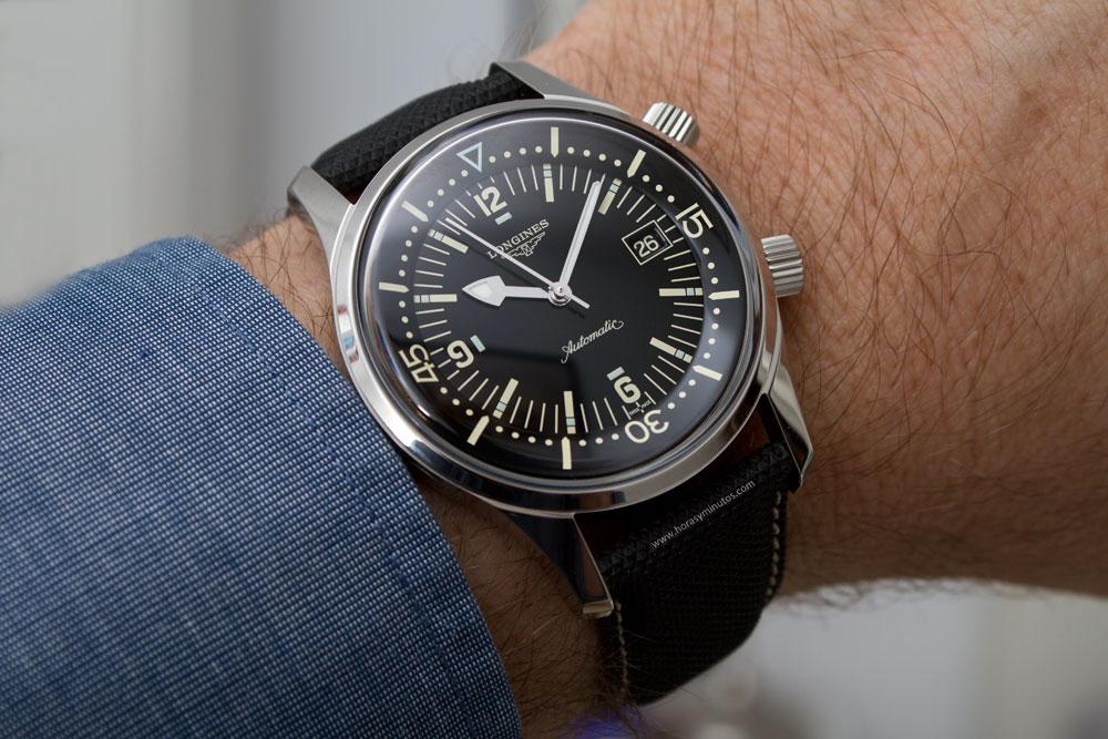 Longines Legend Diver L3.674.4.50.6 Watch Review