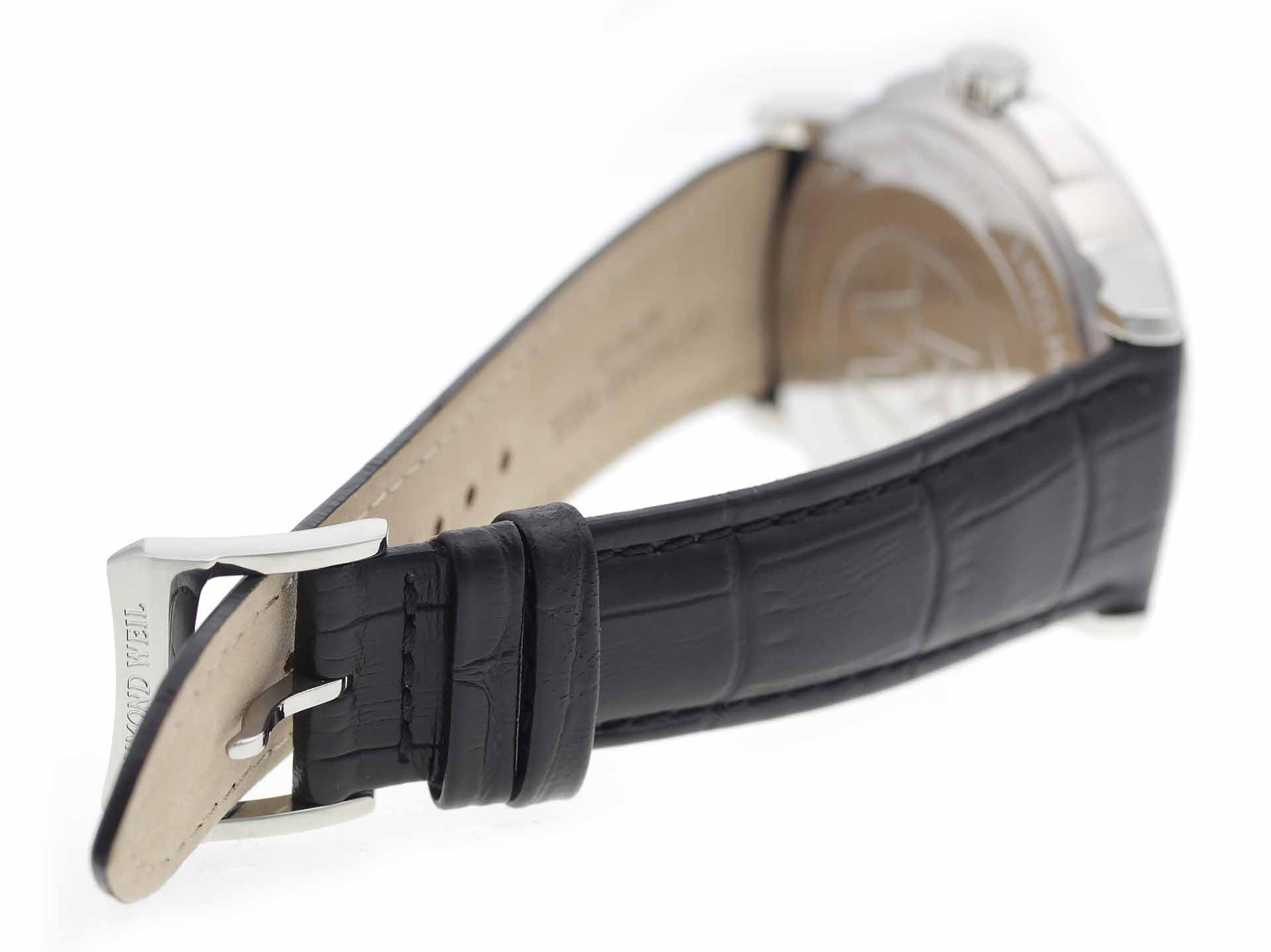 strap and branded clasp