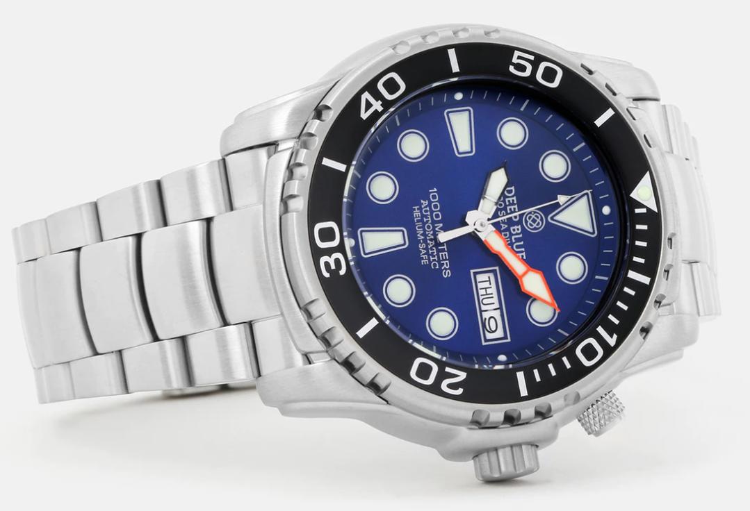 Deep Blue Pro Seadiver 1000m Watch Review