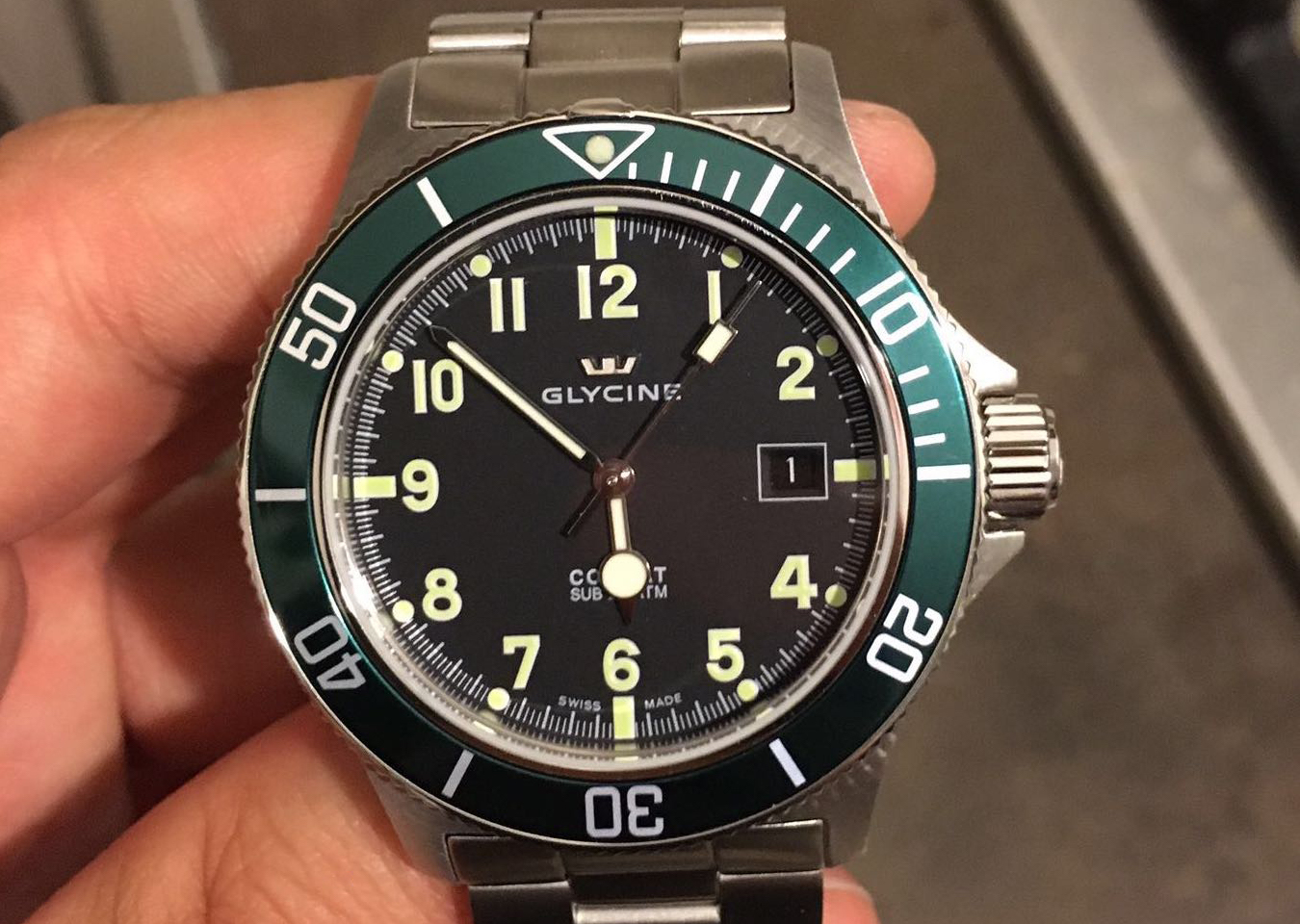 Glycine Combat Sub Watch Review - WatchReviewBlog