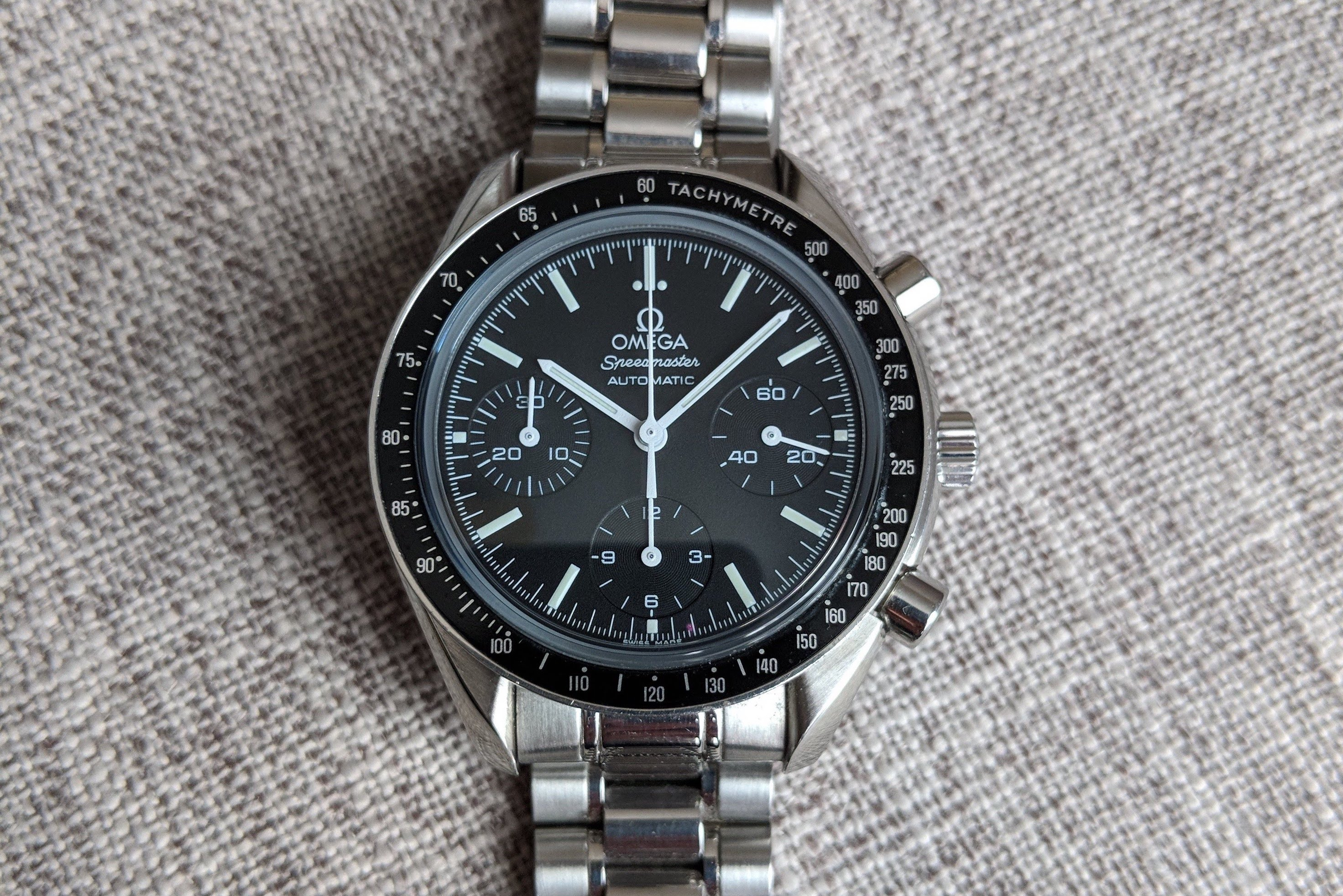 Omega Speedmaster Reduced Ii 3539 50 00 Watch Review Watchreviewblog