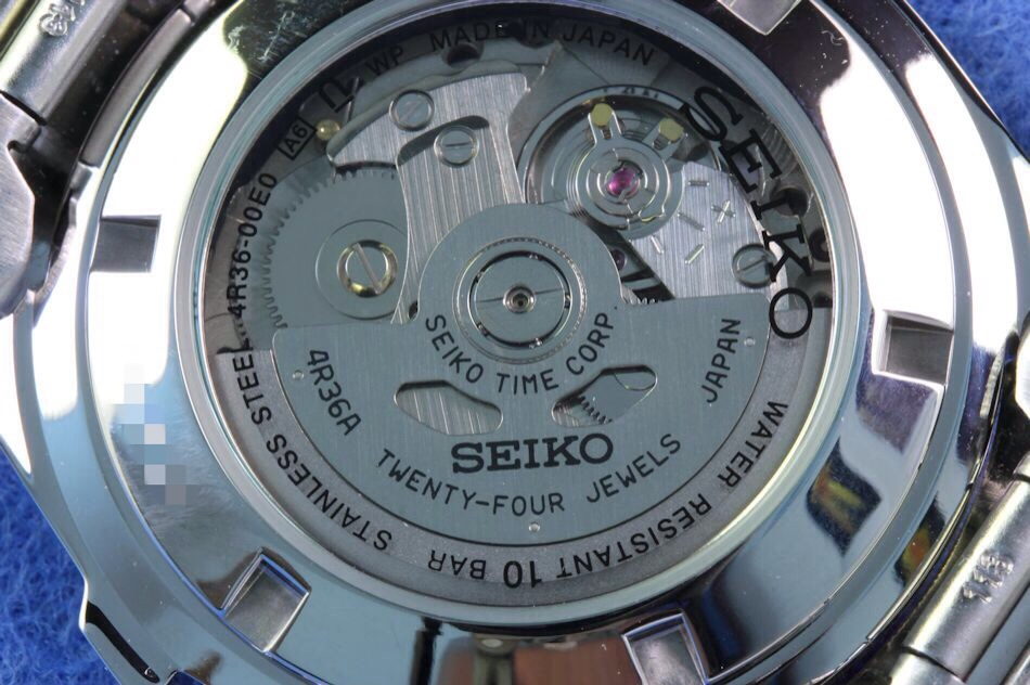 How Does The Seiko 4R36 Movement Work