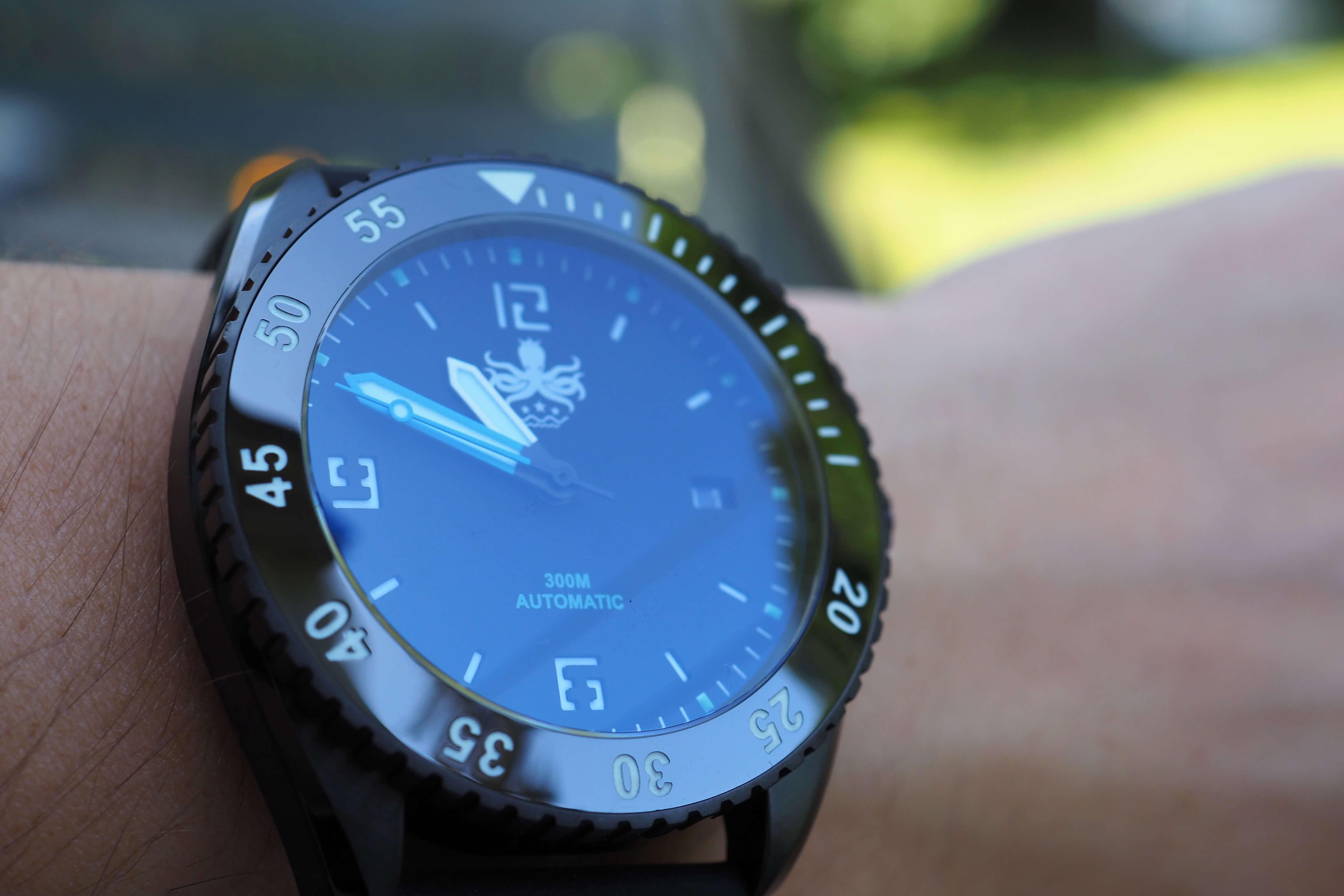crisp divers dial