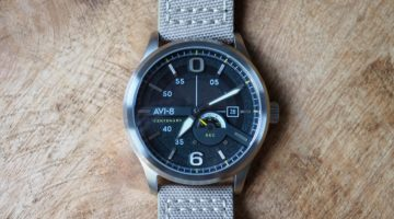AVI-8 Centenary AV-4061-01 1980s Edition Watch Review