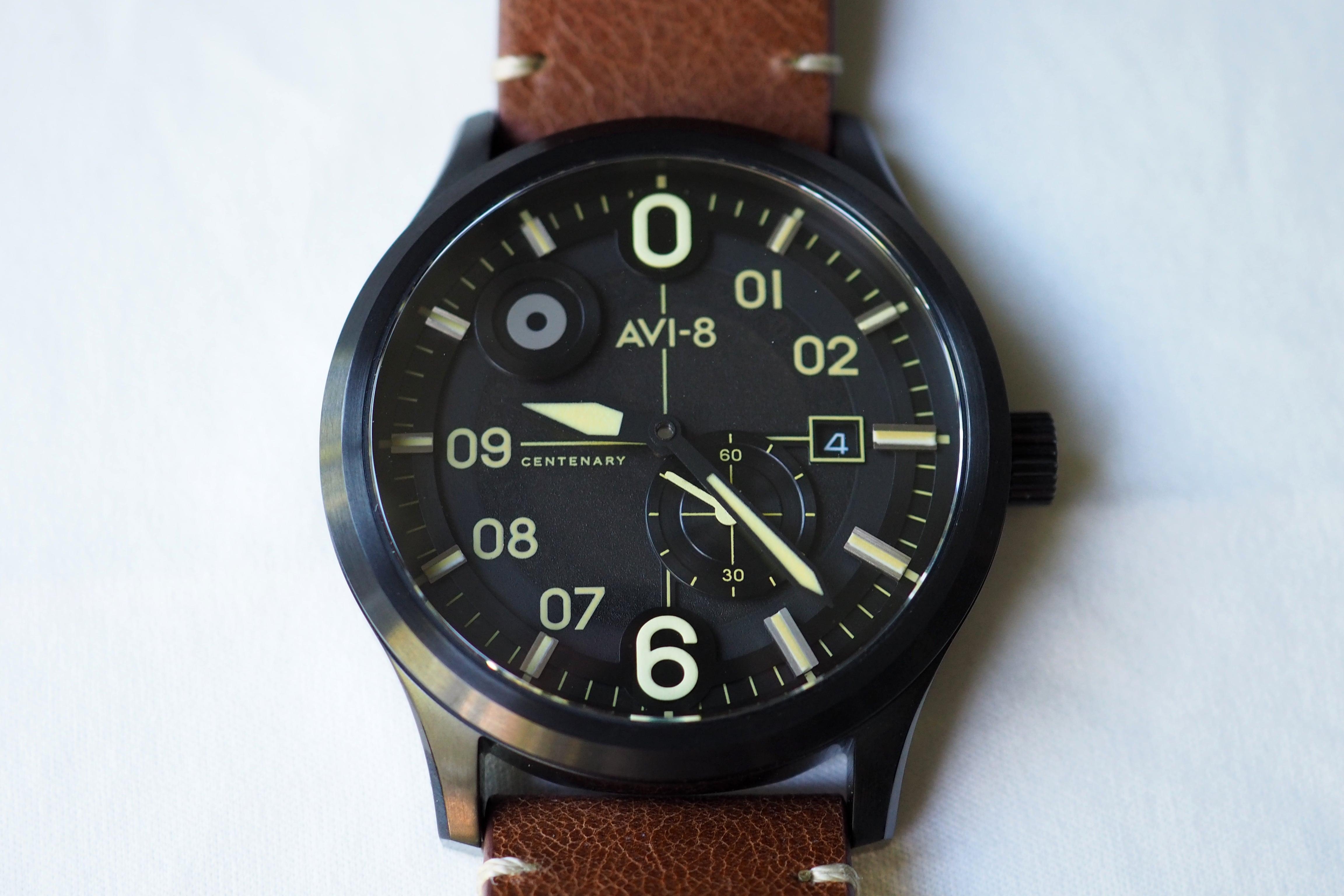 AVI-8 Flyboy Centenary AV-4060-03 1960s Edition Watch Review