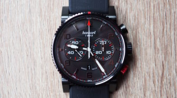 Hanhart Primus Racer Black DLC Watch Review