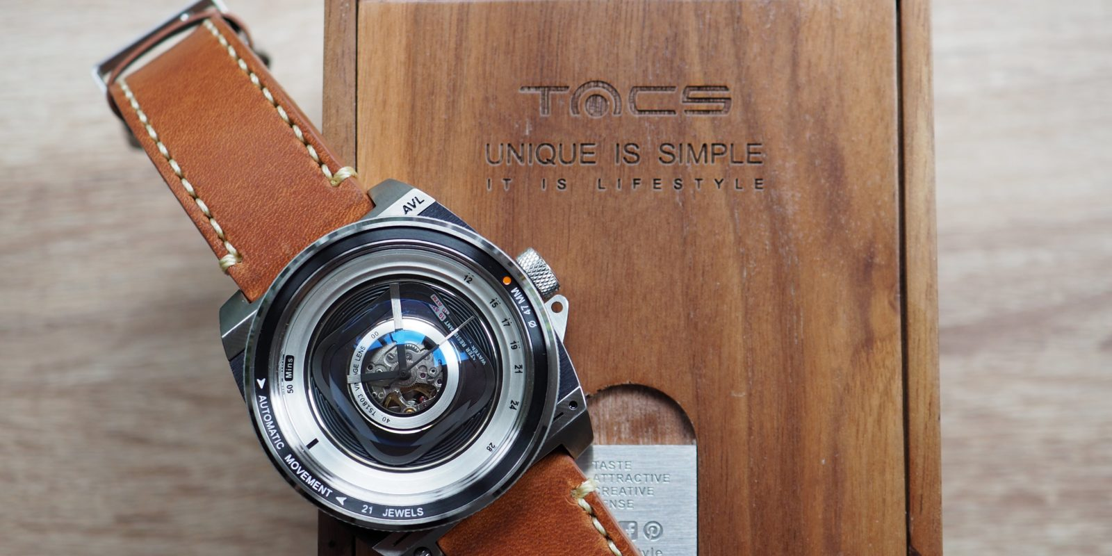 Tacs Automatic Vintage Lens II Watch Review