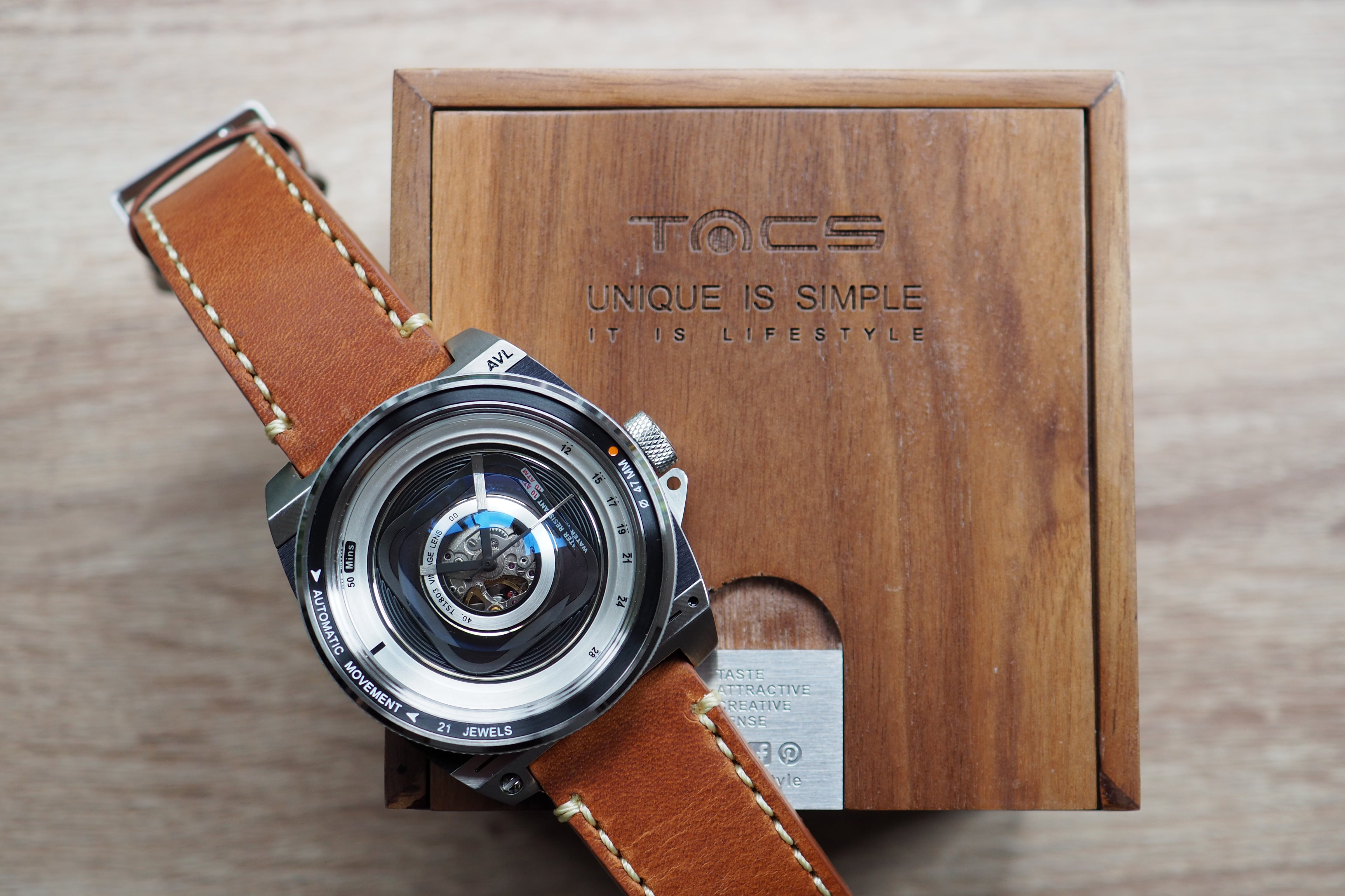 tacs automatic vintage lens ii watch review watchreviewblog