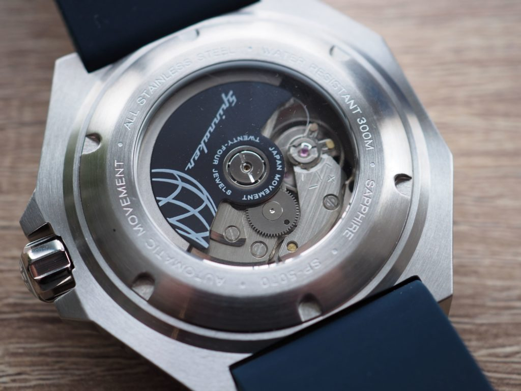 Dumas movement caseback