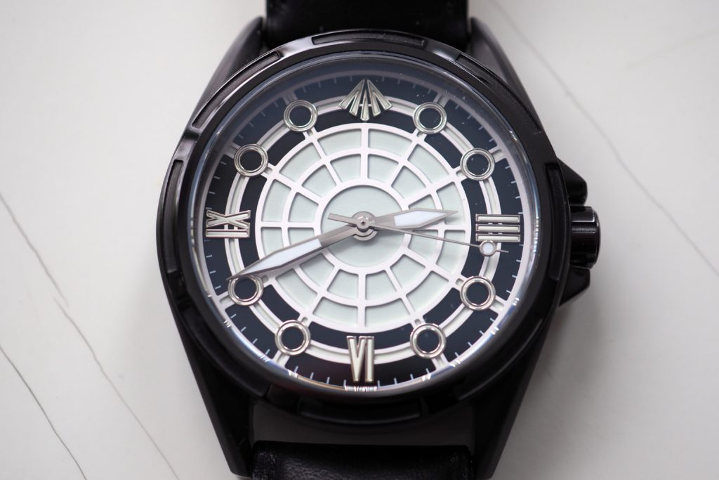 PVD coated with white dial